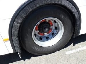 Bus Wheel Nut Safety Indicators