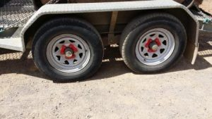 Trailer Wheel Nut Safety Indicators