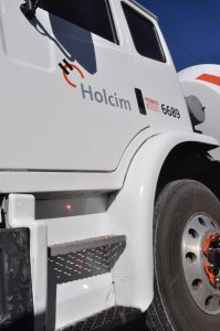 Holcim uses our Zafety Lug Locks Wheel Nut Indicators