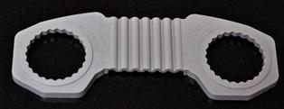 Zafety Lug Locks - Wheel Nut Indicators Grey Plastic