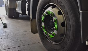 Green Wheel Nut Indicator - Wheel Safety