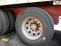 Orange Wheel Nut Indicator - Wheel Safety