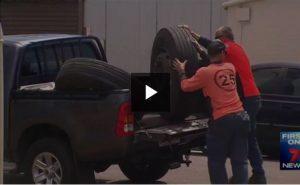 Truck Wheel comes off
